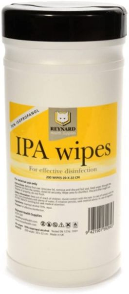 IPA Surface Disinfection Wipes - Pack of 200 Wipes