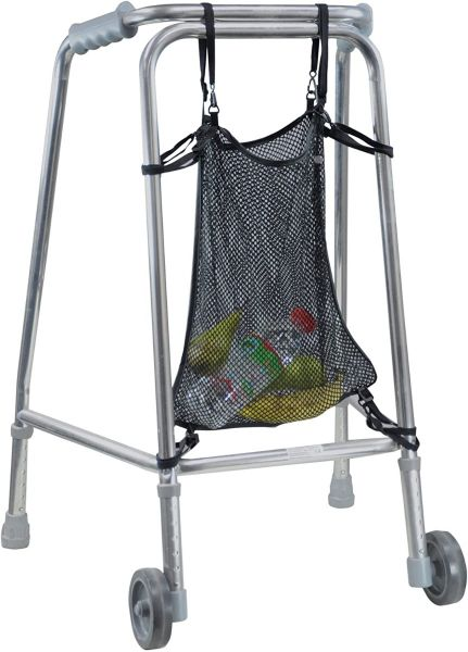 Net Bag Attachment for Walking Frame - Ideal Storage Accessory